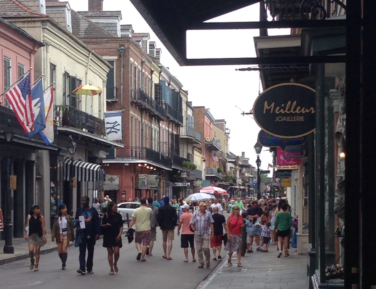 The French Quarter, New Orleans, during the 2014 IRA conference | photo courtesy Trisha Beck DeOre